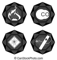 Badges coal industry-3