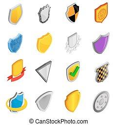 Badges set icons