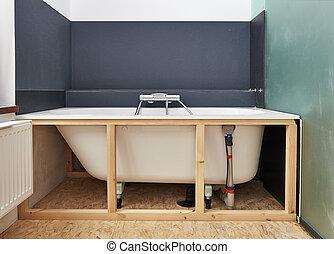 badkamer, remodeling