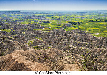 Badlands and grasslands