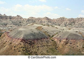 badlands color - colorful shot of the Badlands