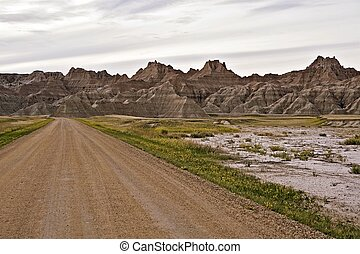 Badlands Country Road