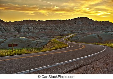 Badlands Highway HDR