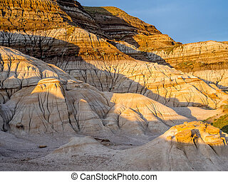 Badlands in Alberta Canada