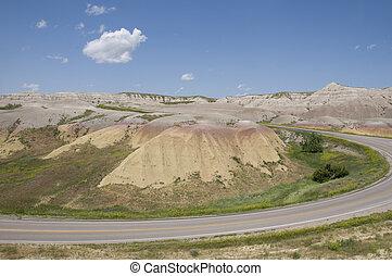 Badlands n South Dakota