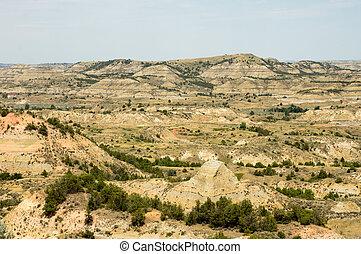 Badlands of South Dakota