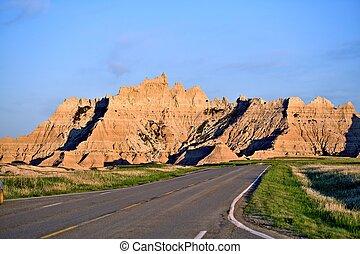 Badlands Roadway