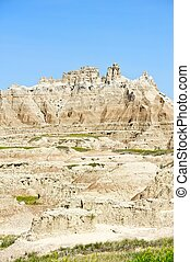 Badlands Sandstone Pinnacles