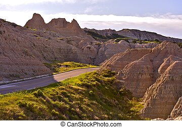 Badlands Scenery