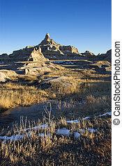 Badlands, South Dakota.