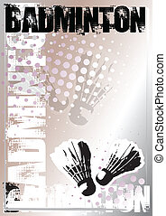badminton background - silver poster background for...