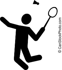 Badminton Pictogram