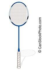 badminton racquet (racket)