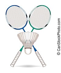 Badminton racquets (rackets shuttle
