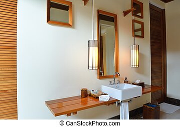 badrum, nymodig, lyxvara