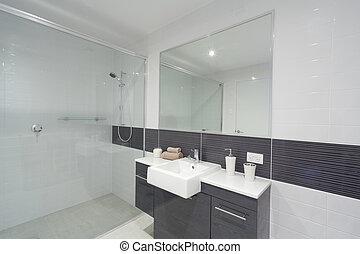 badrum, nymodig