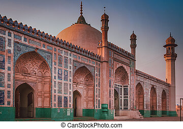 Badshahi Mosque ( Badshahi masjid ) - The Badshahi Mosque...