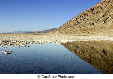 badwateer, vallée mort