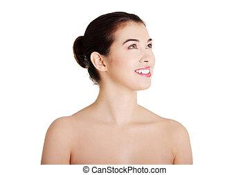 Baeutiful young woman portrait