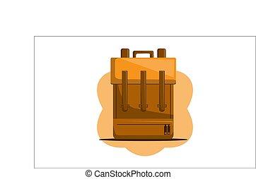 Bag Back to School Vector