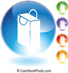 bag crystal icon