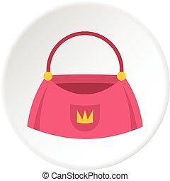 Bag icon circle