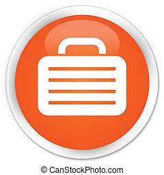 Bag icon orange button