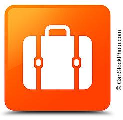 Bag icon orange square button