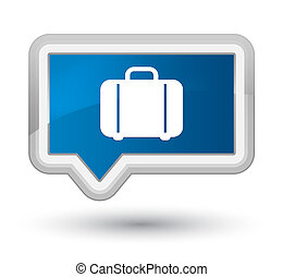 Bag icon prime blue banner button