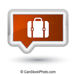 Bag icon prime brown banner button