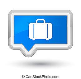 Bag icon prime cyan blue banner button