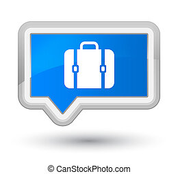 Bag icon prime cyan blue banner button