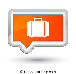 Bag icon prime orange banner button