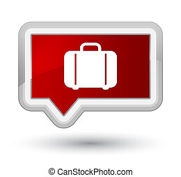 Bag icon prime red banner button
