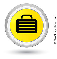 Bag icon prime yellow round button