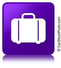 Bag icon purple square button