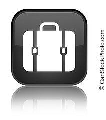 Bag icon special black square button