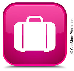 Bag icon special pink square button