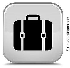 Bag icon special white square button