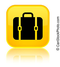 Bag icon special yellow square button