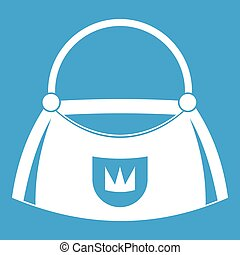 Bag icon white
