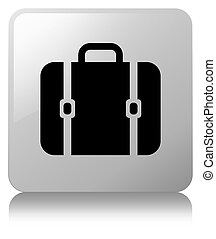Bag icon white square button