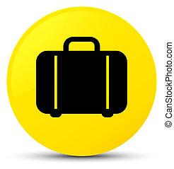 Bag icon yellow round button