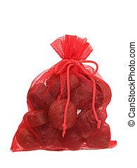 Bag of Chocolates Isolated on White (8.2mp Image)