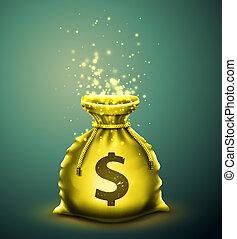 Bag of money, eps 10