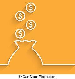 bag of money symbol