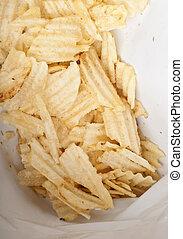 Bag of Potato Chips or Crisps