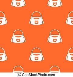 Bag pattern seamless