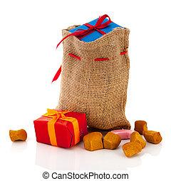 Bag Sinterklaas presents - Bag Dutch Sinterklaas presents...