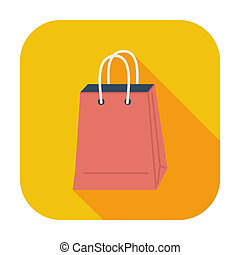 Bag store single icon.